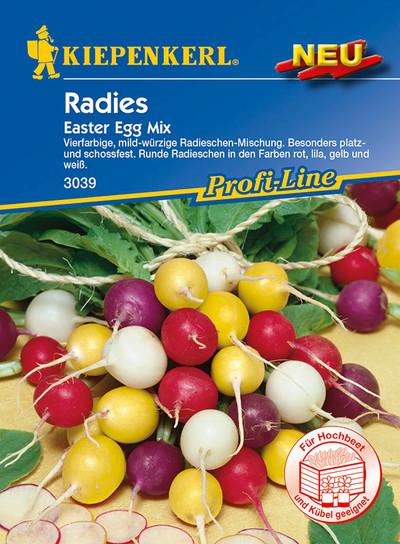Radies Easter Egg Mix | Radieschensamen von Kiepenkerl