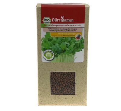 Bio-Keimsprossen Daikon-Rettich 190 g | Bio-Keimsprossen von Dürr Samen