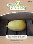 Spaghettikürbis Spaghetti Squash | Spaghettikürbissamen von Jansen Zaden
