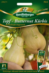 Topf-Butternut Kürbis Butterbush improved F1 | Butternutkürbissamen von Quedlinburger