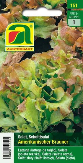 Pflücksalat Amerikanischer brauner | Pflücksalatsamen von Austrosaat