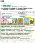 Zucchini Black Forest F1 | Zucchinisamen von Austrosaat