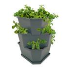 Paul Potato Kartoffelturm Starter Set anthrazit (3 Etagen) | Kartoffeltürme von Gusta Garden