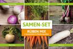 Rüben-Set: Rüben Mix mit 6 Sorten | Rübensamen von FLORTUS
