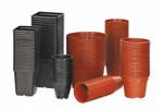 Kunststofftöpfe 12 Stück | Kunststofftöpfe von Romberg