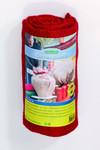 Rotes Pflanzenschutzgewebe aus Jute 300 x 105 cm | Pflanzenschutzgewebe von Romberg