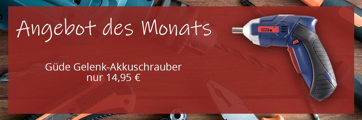 58144 Güde GELENK-AKKUSCHRAUBER AGS 3.6-130-03