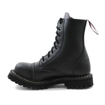 Angry Itch - 8-Loch Boots Vegan Schwarz - Thumb 4