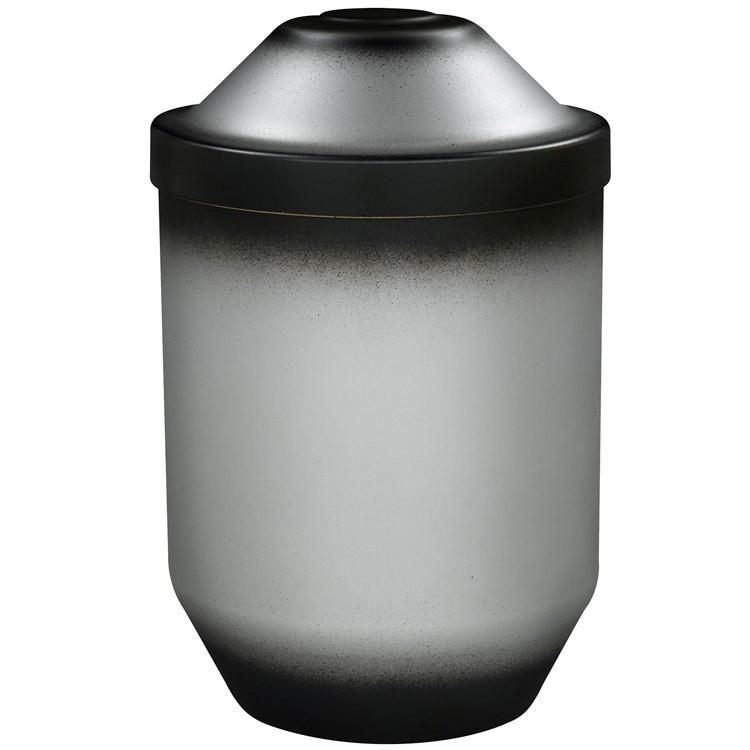 Bio-Tec³-Urne silber brüniert gefärbt: 282 mm, ø = 190 mm