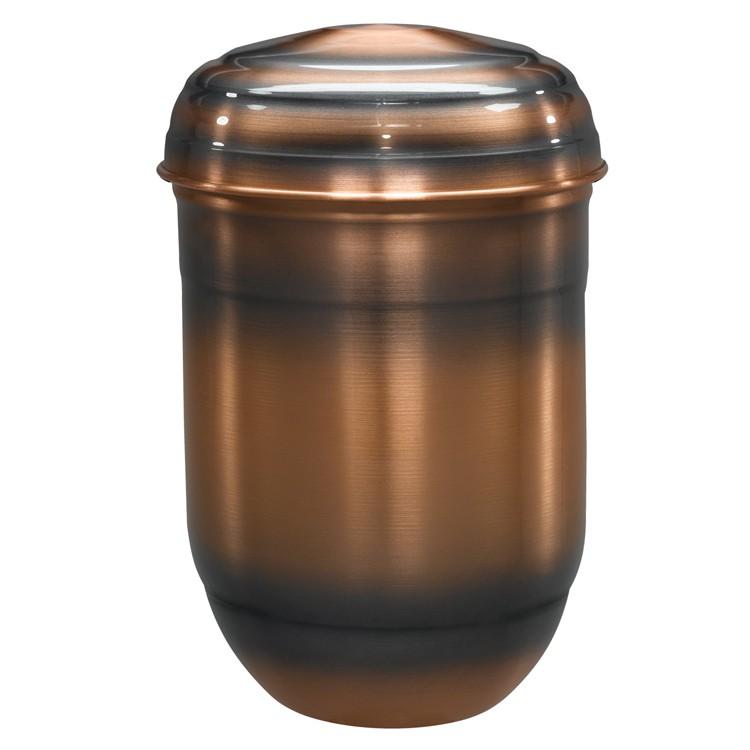 Kupfer-Urne altkupfer gefärbt (hell): 280 mm, ø = 190 mm