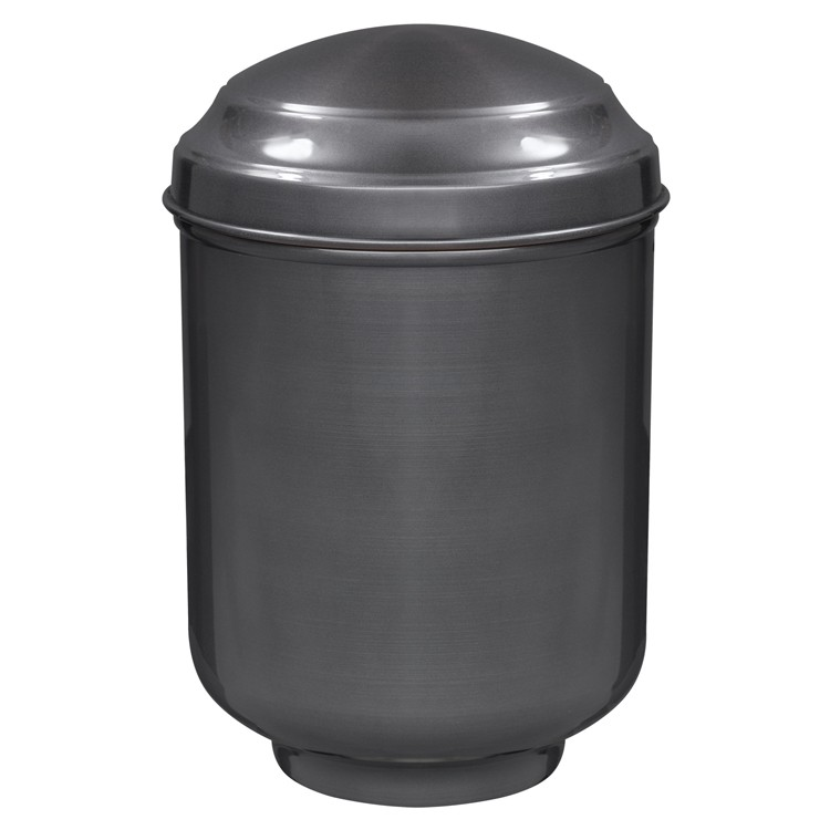 Kupfer-Urne brüniert: 282 mm, ø = 189 mm