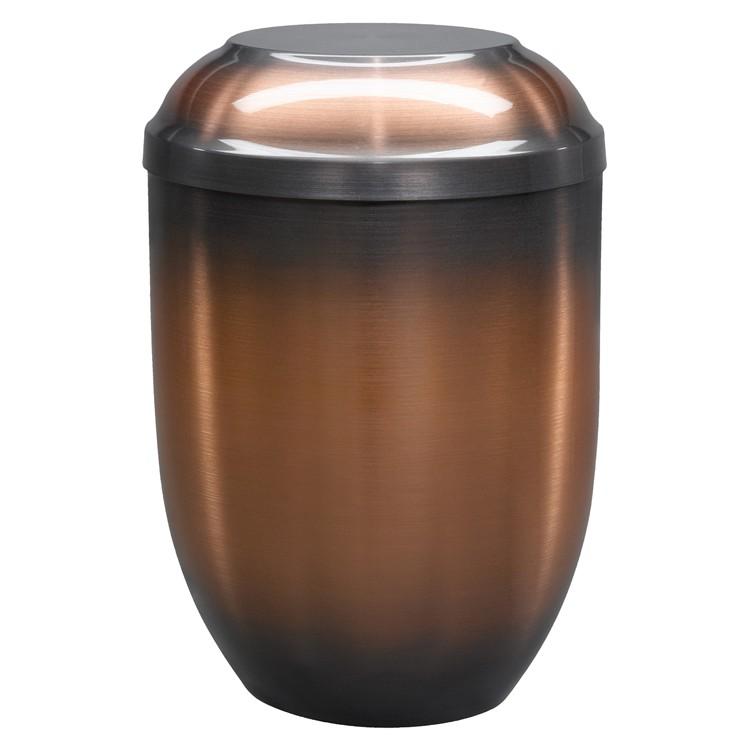 Kupfer-Urne altkupfer gefärbt (hell): 254 mm, ø = 182 mm