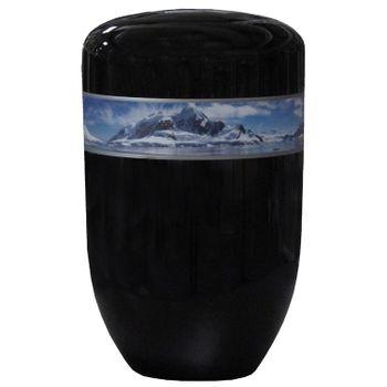 Creativ-Urne ARKTIS schwarz: 279 mm, ø = 181 mm
