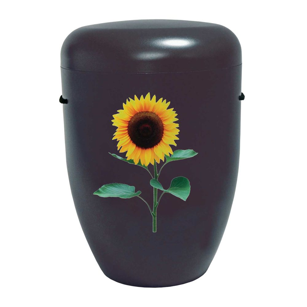 Bio-Urne Creative Line Flowers Sonnenblume