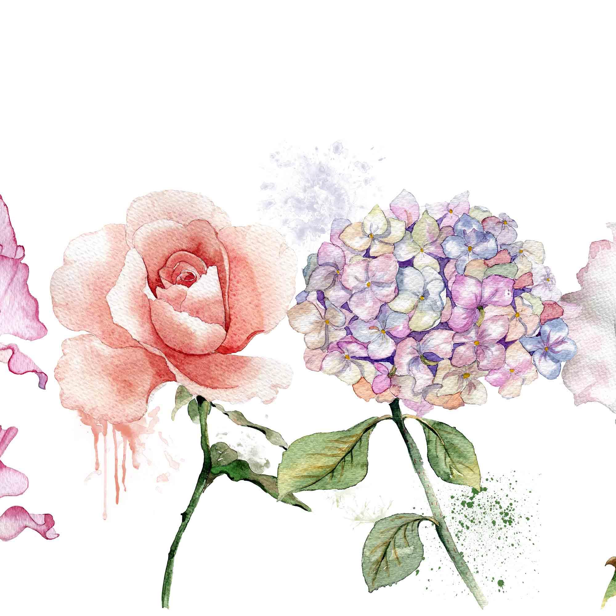 Digitale Blumenbilder