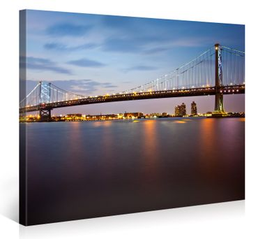 Ben Franklin Bridge en Philadelphia – 1004690