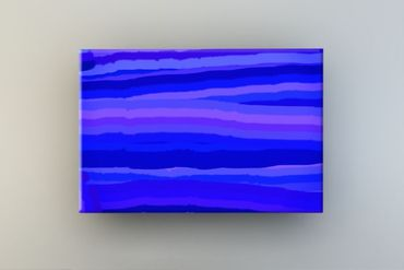 Streifen blau-lila 2 – Bild 1