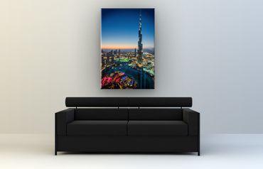 Burj Khalifa im Sonnenuntergang – Bild 2