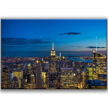 Empire State Building in der Nacht – Bild 1