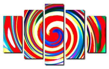 """Inspired by Kandinsky"" Twist – Bild 1"