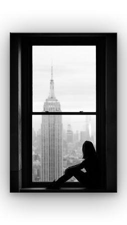 Blick aus dem Fenster – Bild 1