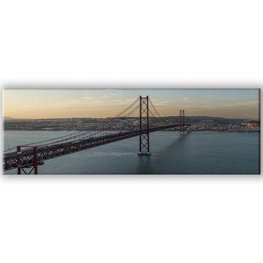 Lissabon Brücke Panorama – Bild 1