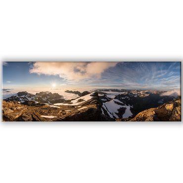 Norwegen Panorama Moysalen – Bild 1