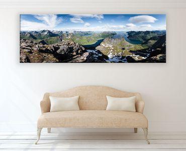 Norwegen Senja Panorama – Bild 2