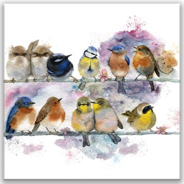 Birds Watercolor Design 3 – Bild 1