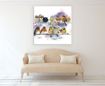 Birds Watercolor Design 3 – Bild 2