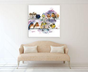 Birds Watercolor Design 3 – Bild 2