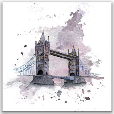 London Watercolor Design 1 – Bild 1