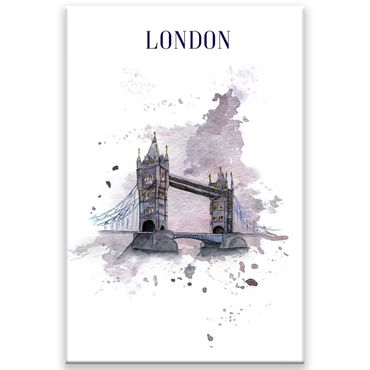 London Watercolor Design 2 – Bild 1