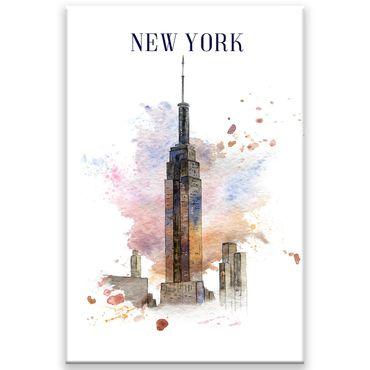 New York Watercolor Design 2020159554 – Bild 1