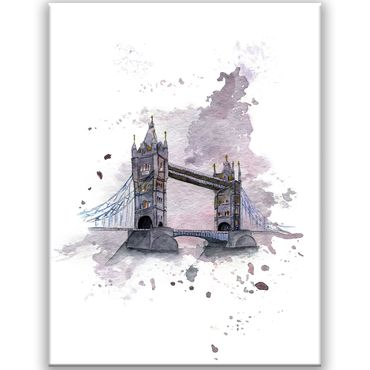 London Watercolor Design 2020159562 – Bild 1