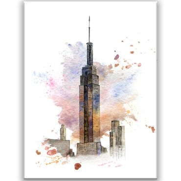 New York Watercolor Design 3 – Bild 1