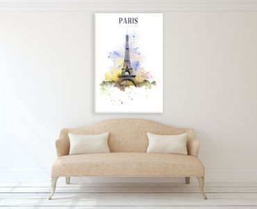 Paris Watercolor Design 3 – Bild 2