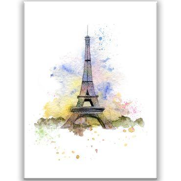 Paris Watercolor Design 2020159565 – Bild 1