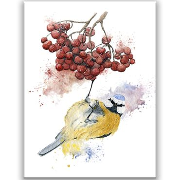 Bird Watercolor Design 1 – Bild 1