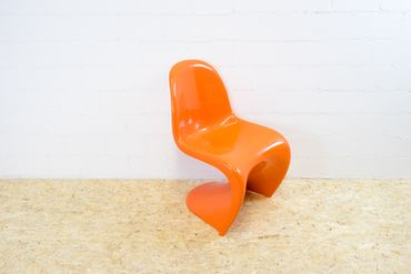 Panton Chair Herman Miller orange – Bild 2