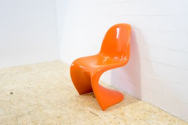 Panton Chair Herman Miller orange – Bild 5