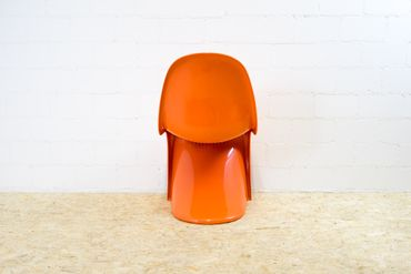 Panton Chair Herman Miller orange – Bild 7