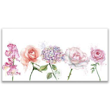 Blüten gemalt – Bild 1