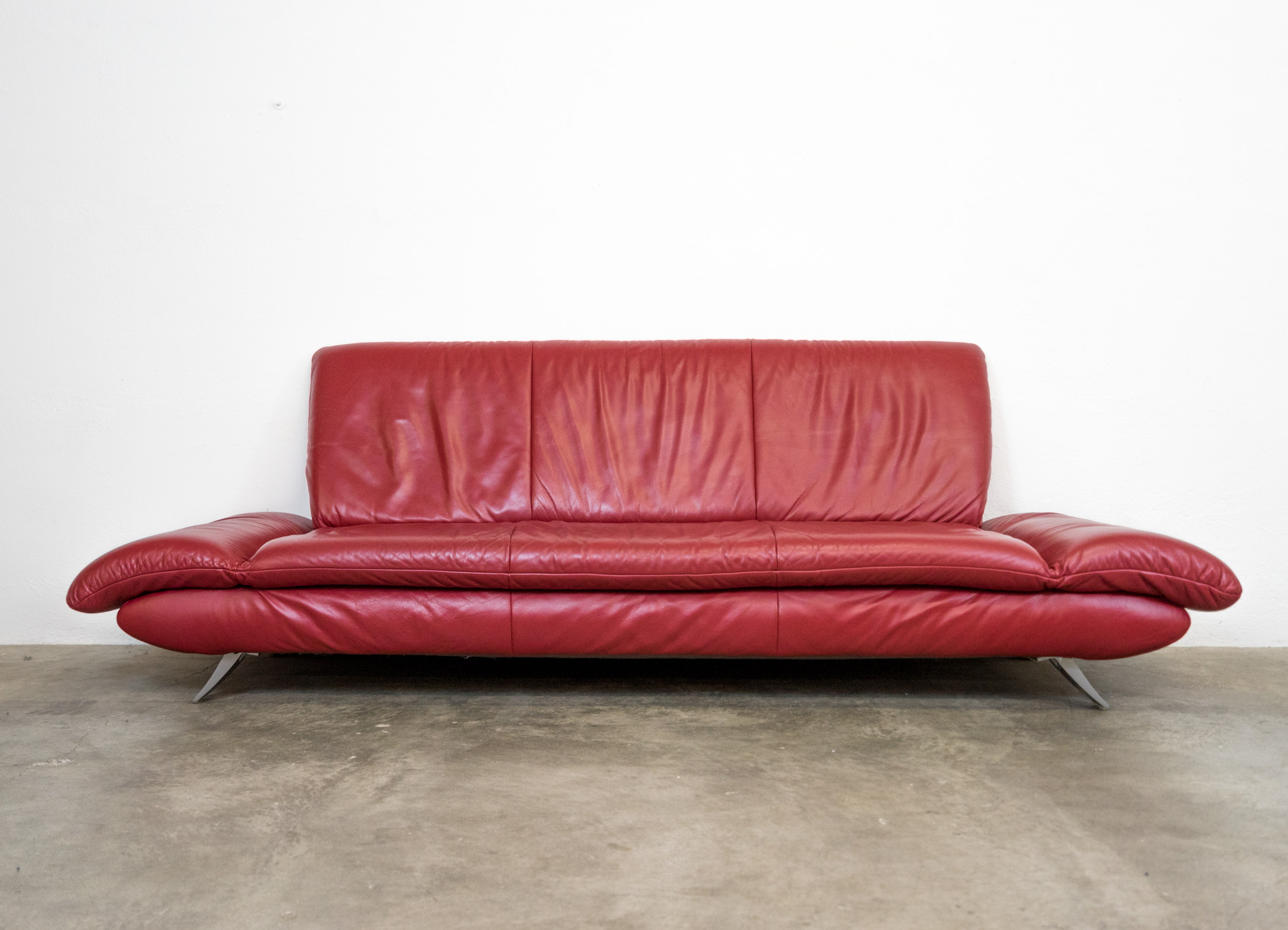 Koinor Rossini Sofa Leder Rot