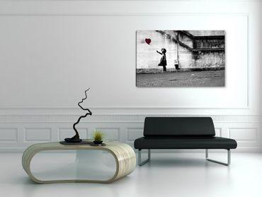 Banksy graffiti fille ballon - 3004165 – Bild 2