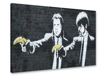 Banksy Graffiti Pulp Fiction avec bananes - 3004171 – Bild 1