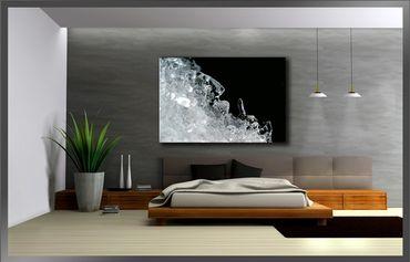 Eis Design schwarz-weiss – Bild 3