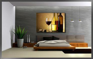 Wein Glas Flaschen – Bild 3