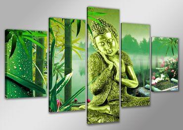 Bouddha statue vert - 3005521