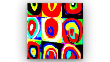 """Inspired by Kandinsky"" 32 – Bild 1"